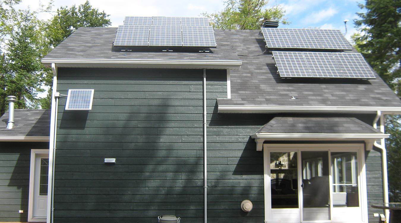Système d'énergie solaire résidentiel #2