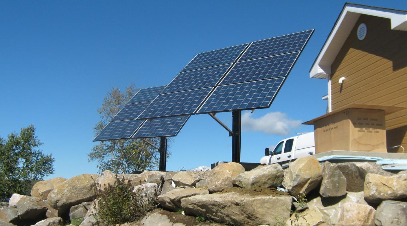 Système d'énergie solaire résidentiel #1
