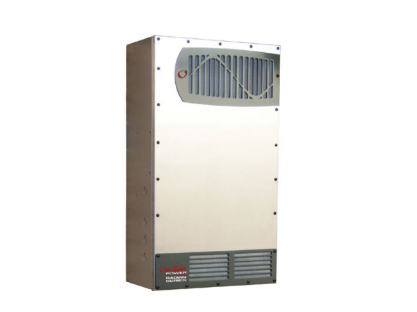 Solaire Laurentides - Onduleur/chargeur hybride OutBack Radian 8000W, 48Vcc, 120/240Vac, chargeur 115A