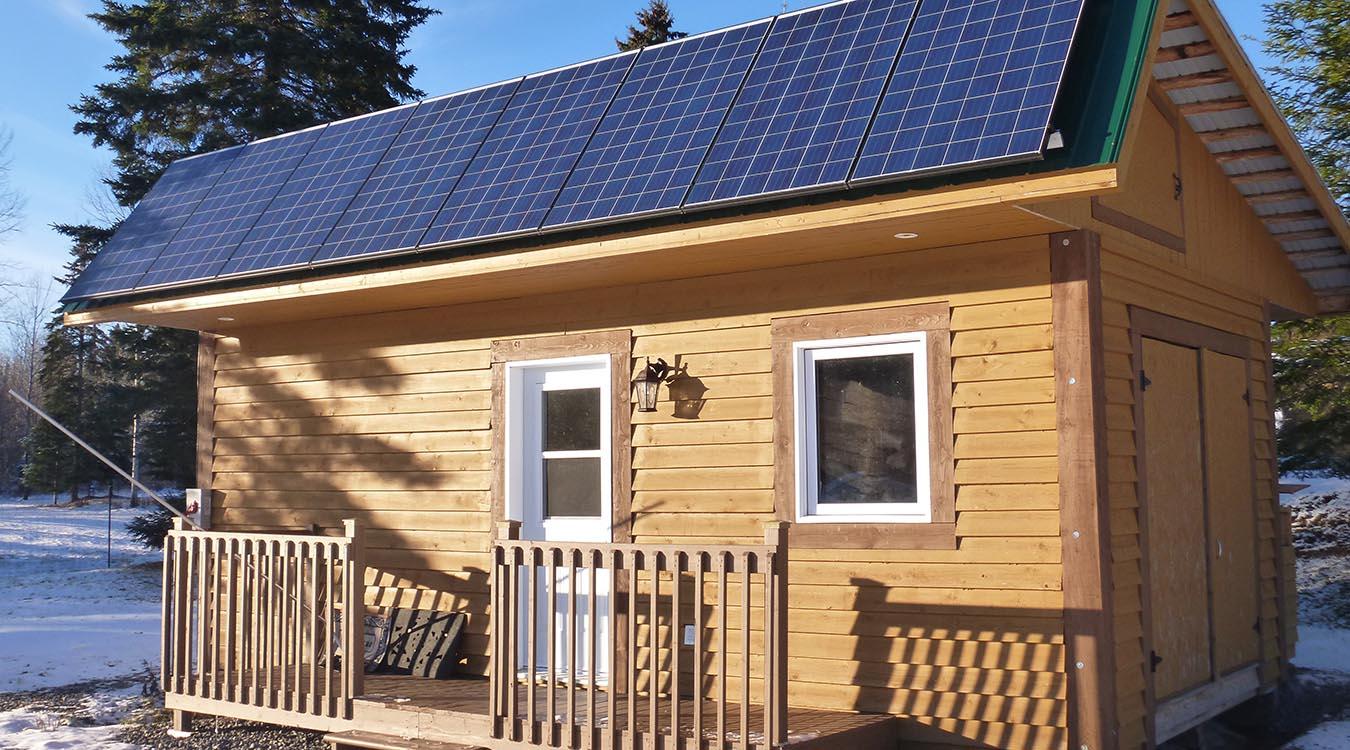 Système d'énergie solaire résidentiel #3