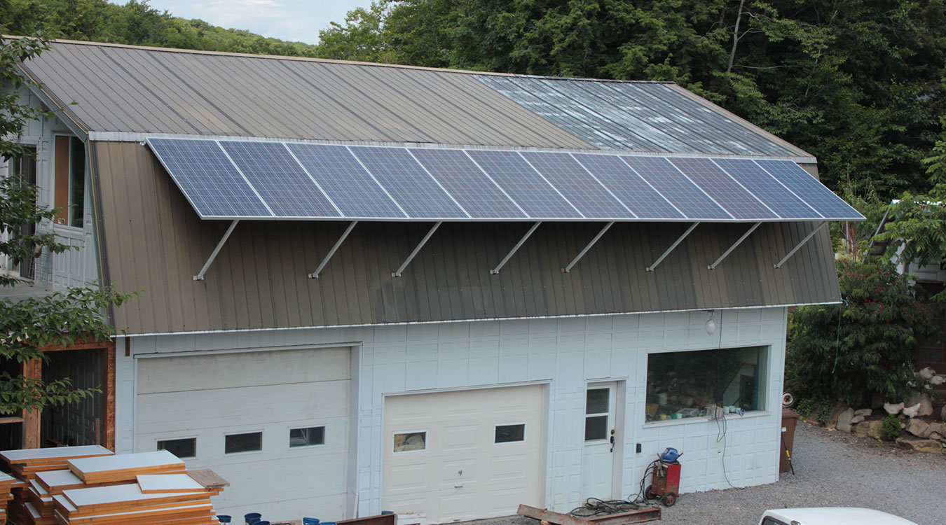 Système d'énergie solaire pépinière