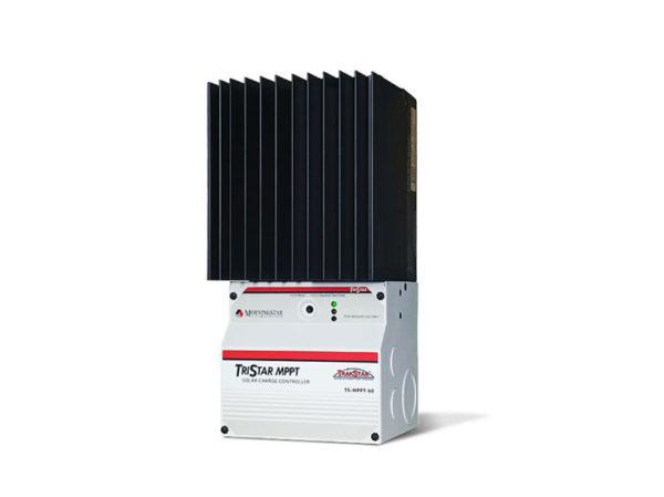 Solaire Laurentides - Morningstar TriStar MPPT 60A 150Vdc, 12V-24V-48V, sans afficheur