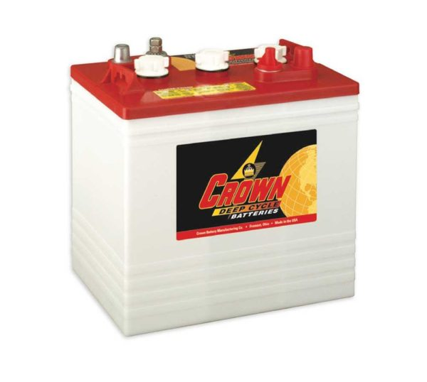 Solaire Laurentides - Batterie Crown CR-235 6V 235AH